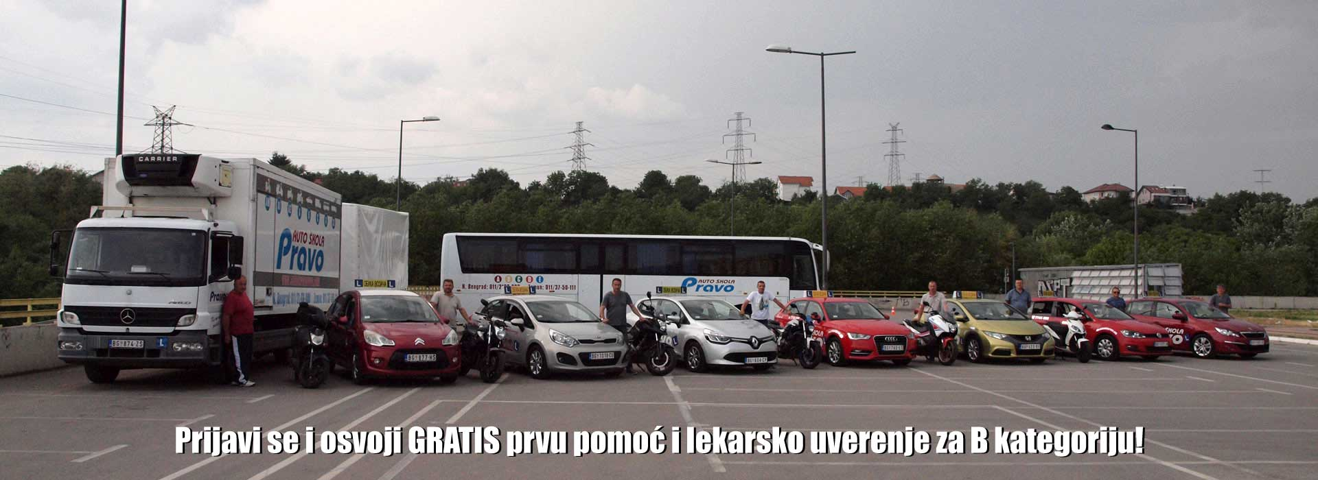 Auto škola Pravo Beograd, Novi Beograd